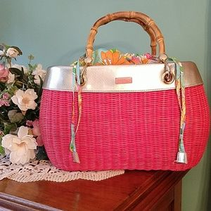 Lilly Pulitzer Garden Party Basket Bag